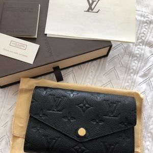 Louis Vuitton Empreinte Compact Monogram Wallet